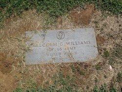Malcolm G. Williams