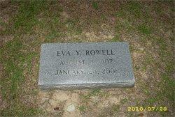 Eva Carolyn <I>Yaughn</I> Rowell