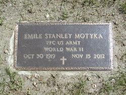 PFC Emile Stanley Motyka