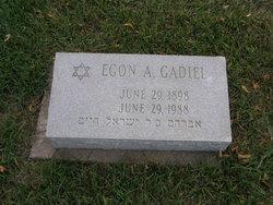 Egon A Gadiel
