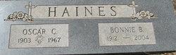 Bonnie B <I>Beaty</I> Haines