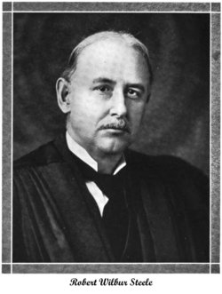 Judge Robert Wilbur Steele