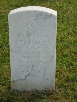 Frank M Crutchley