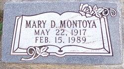 Mary Anielee <I>Donaldson</I> Montoya