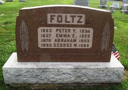 Family Photos Of Mary Emma Showalter >> Peter Y. Foltz (1853-1934) - Find A Grave Memorial
