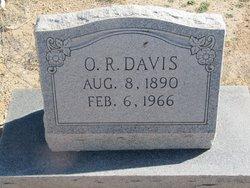 """Owen Richard """"O. R."""" Davis"""