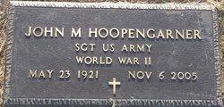 Sgt John Minner Hoopengarner