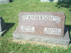 Minnie May <I>Hiestand</I> Anderson