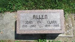 Clara <I>Scott</I> Allen