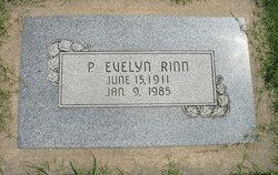 P Evelyn Rinn