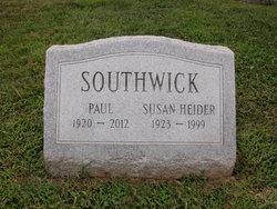 Susan <I>Heider</I> Southwick