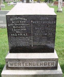 Wilhelmina <I>Pifer</I> Wertenberger