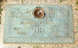 Minnie Anna <I>Franklin</I> Paige