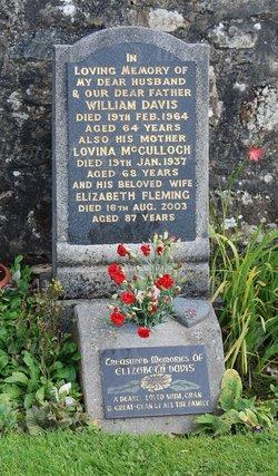 Lovina <I>McCulloch</I> Davis