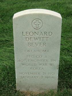 Leonard Dewitt Bever