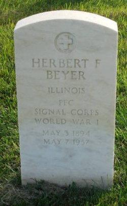 Herbert F Beyer