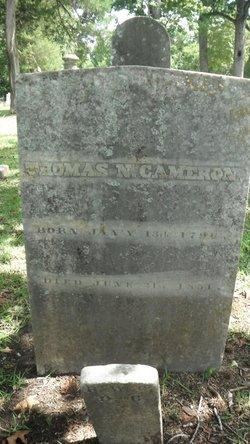 Dr Thomas Nash Cameron