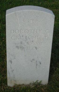 Dorothy C Crutchley
