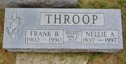 Nellie A <I>Hubbell</I> Throop