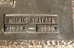 Morig Heather <I>Crawford</I> Harrison