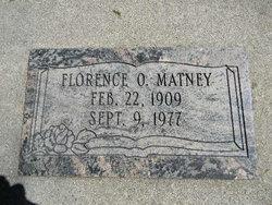 Florence <I>Coiner</I> Matney
