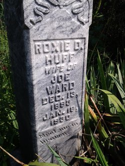 Roxie D <I>Huff</I> Ward