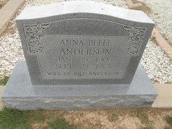 Anna Belle <I>Freeman</I> Anderson