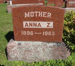 Anna <I>Zastrow</I> Bliese