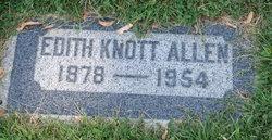 Edith Clarrissa <I>Knott</I> Allen
