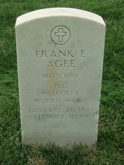"Francis Eugene ""Frank"" Agee"