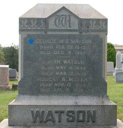 George M D Watson