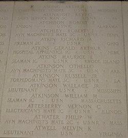 Lt Wallace Payne Atkinson, Jr