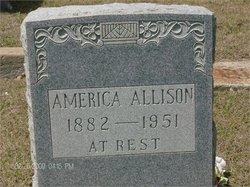 America Jane <I>Ezell</I> Allison