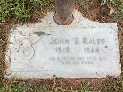 PFC John E. Raley