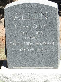 Ethel Vida <I>Bowsher</I> Allen