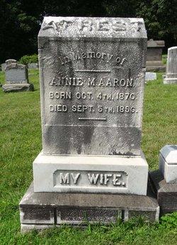 Annie M. <I>Stewart</I> Aaron
