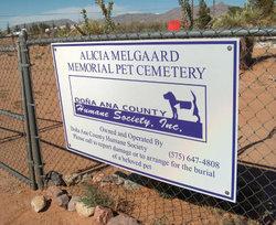 Alicia Melgaard Memorial Pet Cemetery
