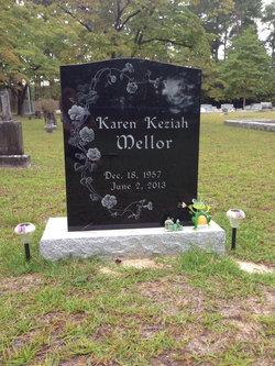 Karen <I>Keziah</I> Mellor