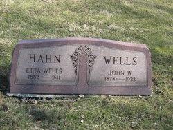 Etta May <I>Tice</I> Wells-Hahn