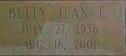 Betty Jean <I>Livingston</I> Berry