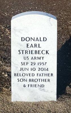 Donald Earl Striebeck
