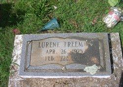 "Lurene ""Fat"" <I>Binion</I> Freeman"