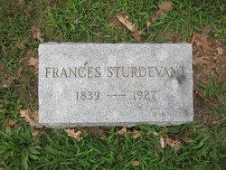 Frances Abiah <I>Taylor</I> Sturdevant
