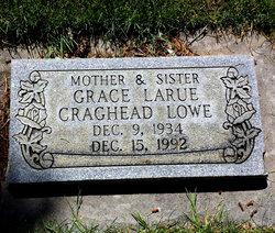 Grace Larue <I>Craghead</I> Lowe