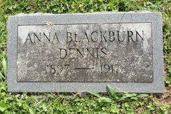 "Anna Catherine ""Annie"" <I>Blackburn</I> Dennis"