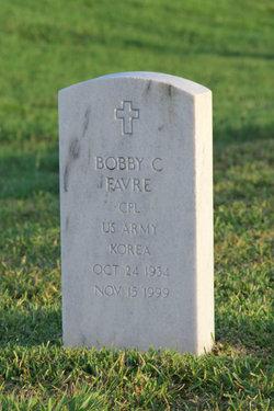 CPL Bobby C Favre