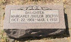 Margaret <I>Taylor</I> Bolton
