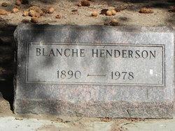 Blanche <I>Bush</I> Henderson