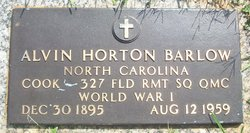Alvin Horton Barlow