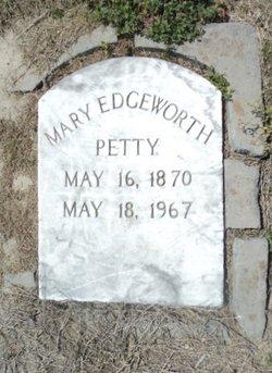 Mary Edgeworth <I>Holt</I> Petty